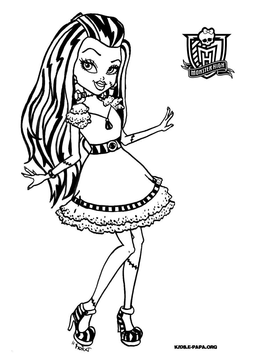 Monster High Ausmalbild Inspirierend 40 Ausmalbilder Monster High Frankie Stein Scoredatscore Schön Galerie
