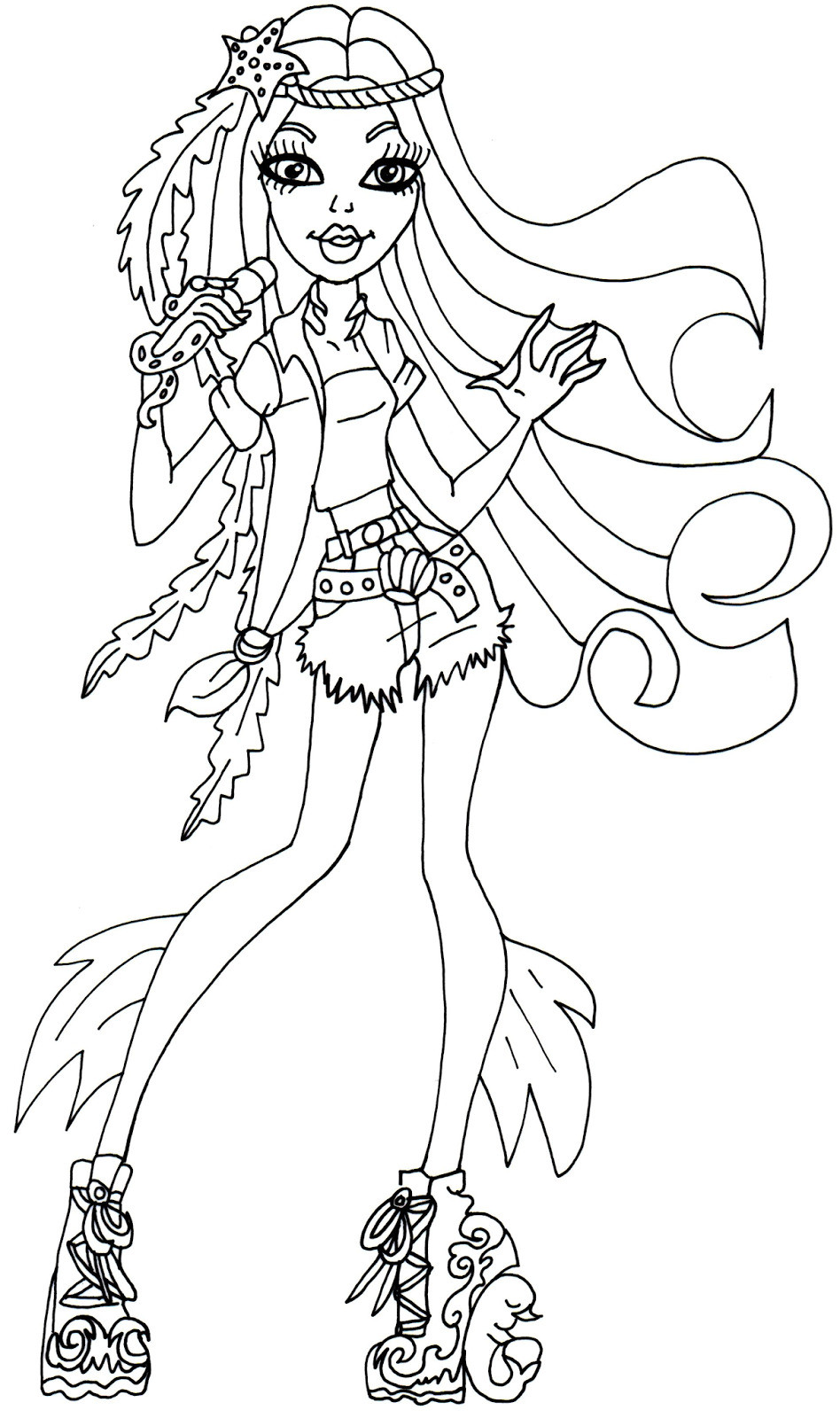 Monster High Ausmalbilder Clawdeen Inspirierend Free Printable Monster High Coloring Page for Madison Fear Luxus Galerie