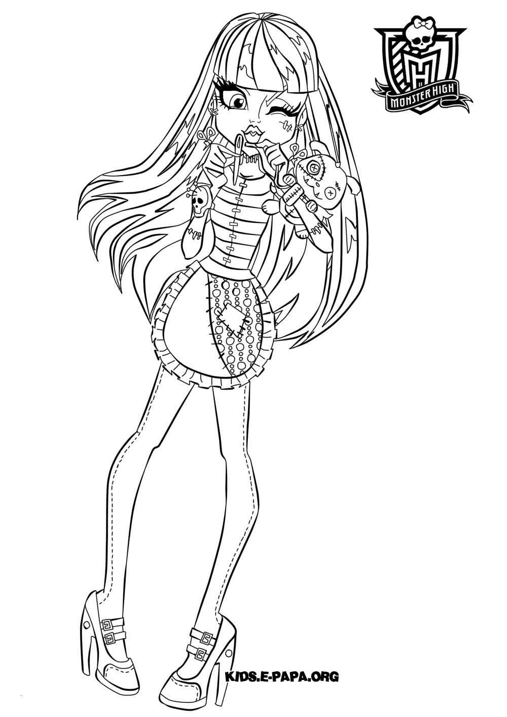 Monster High Ausmalbilder Frisch Clawdeen Wolf Monster High Coloring Page Elegant Monster High Fotos