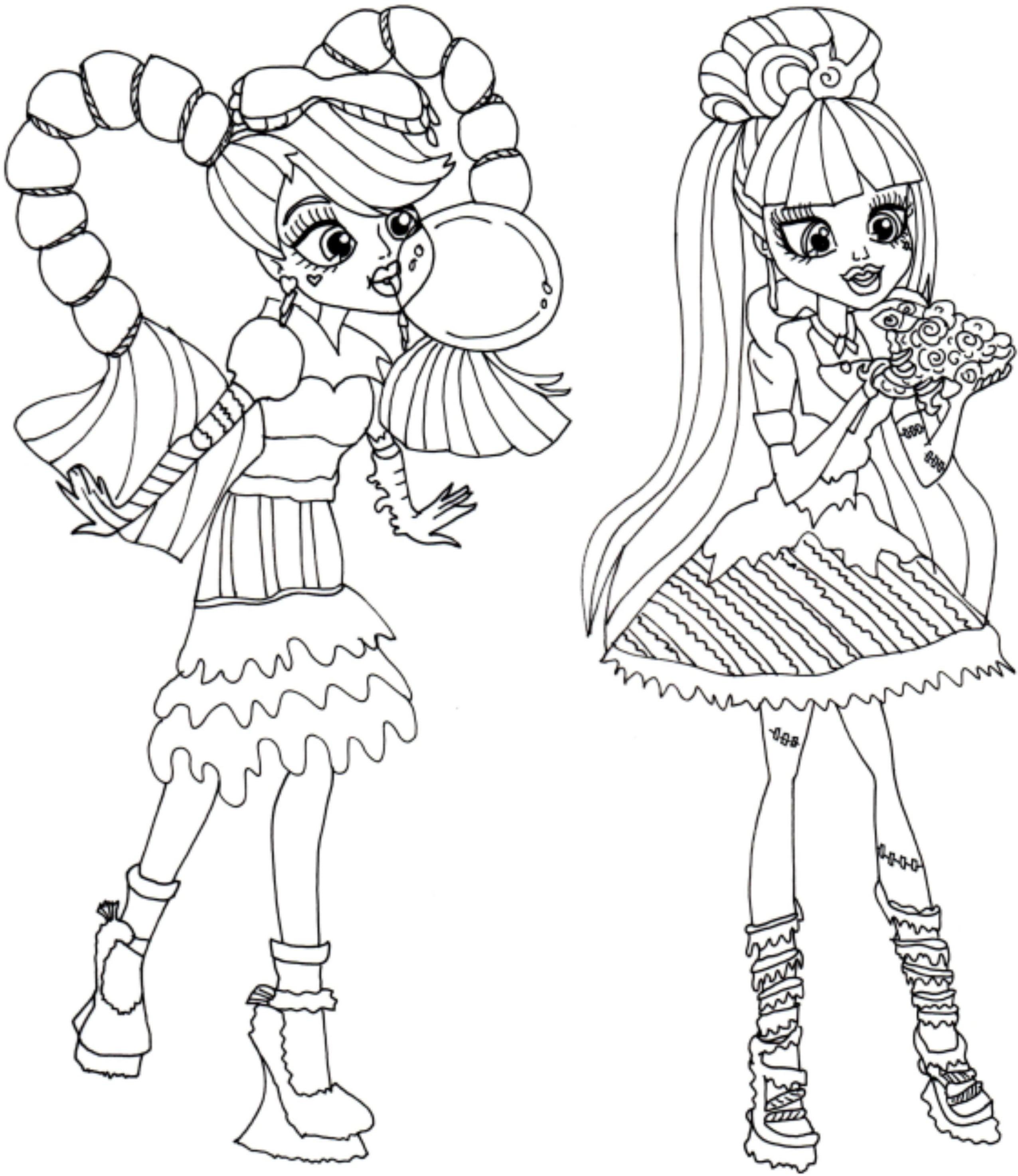 Monster High Bilder Zum Ausdrucken Frisch Baby Monster High Coloring Pages Coloring Pages Coloring Pages Das Bild