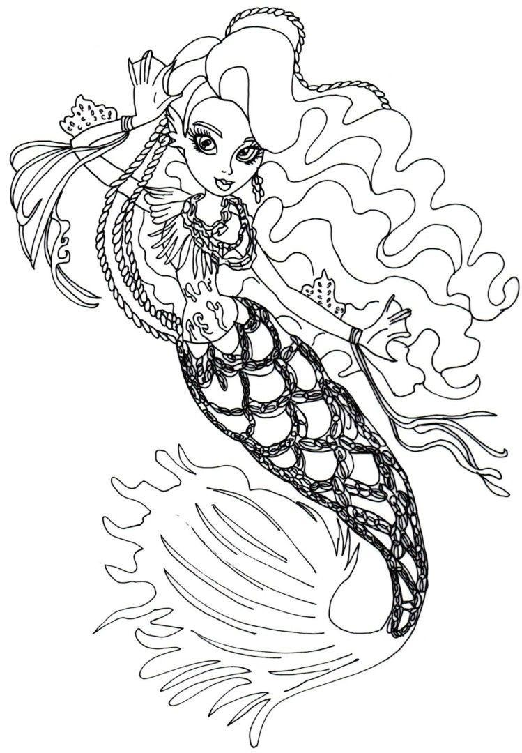 Monster High Bilder Zum Ausdrucken Frisch High Freaky Fouchon Coloring Pages to Elegant Monster High Galerie