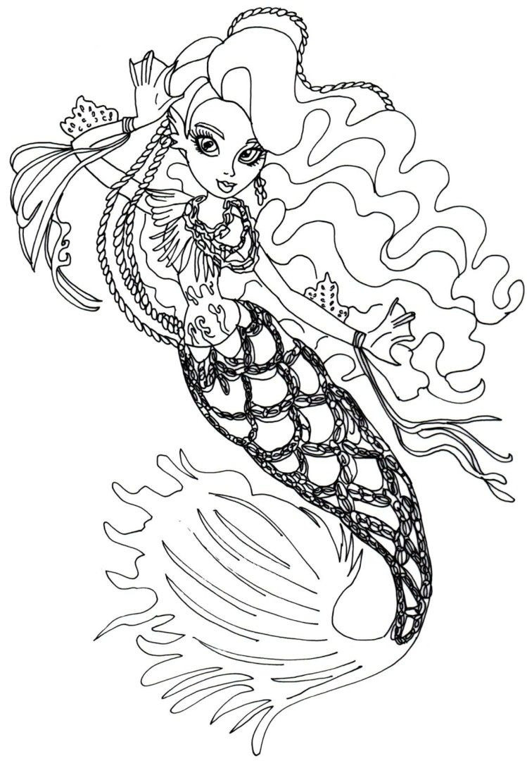 Monster High Malvorlagen Frisch High Freaky Fouchon Coloring Pages to Elegant Monster High Galerie