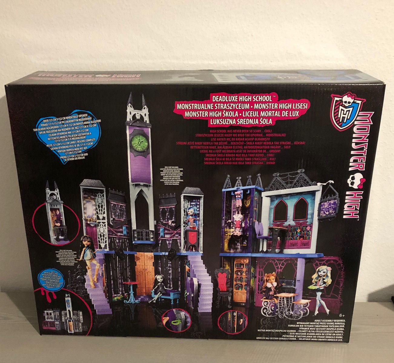Monster High Malvorlagen Frisch Mattel Monster High Cjf48 Mega Schule Deluxe Monsterschule Ovp Neu Bilder