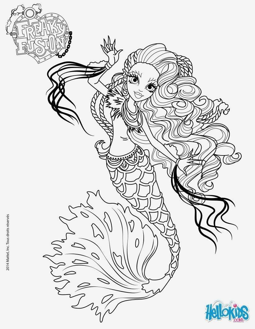 Monster High Zum Ausmalen Das Beste Von Eine Sammlung Von Färbung Bilder Ausmalbilder Meerjungfrau Bilder