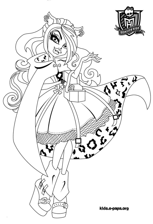 Monster High Zum Ausmalen Das Beste Von Monster High Ausmalbilder Boo York Neu 32 Ausmalbilder Monster High Das Bild