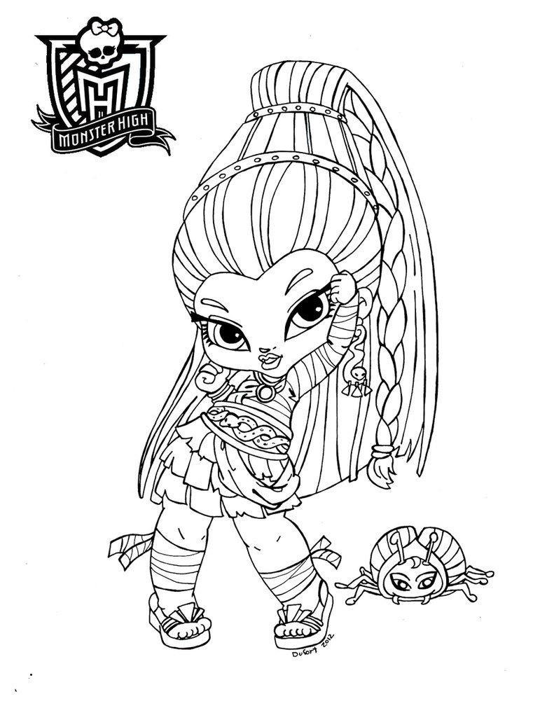 Monster High Zum Ausmalen Einzigartig 48 Skizze Monster High Ausmalbilder Baby Treehouse Nyc Fotografieren