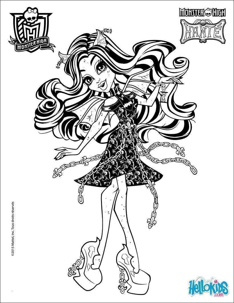 Monster High Zum Ausmalen Frisch Monster High Ausmalbilder Zum Ausdrucken Foto 38 Monster High Galerie
