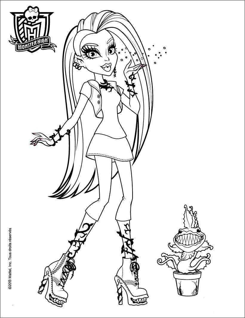 Monster High Zum Ausmalen Frisch Monster High Malvorlagen Vorstellung Bayern Ausmalbilder Schön Igel Fotos