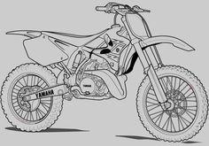 Motorrad Zum Ausmalen Das Beste Von Motorrad Ausmalbilder Honda Motocross Fotos