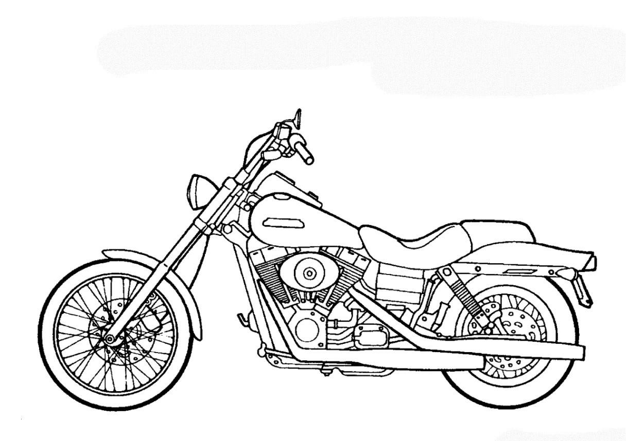 Motorrad Zum Ausmalen Einzigartig Ausmalbilder Motorrad Schon 35