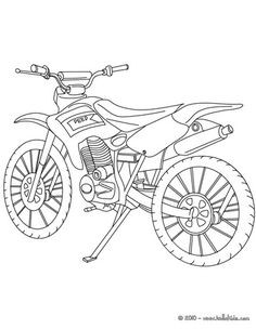 Motorrad Zum Ausmalen Einzigartig Motorrad Ausmalbilder Honda Motocross Fotos