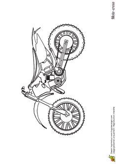 Motorrad Zum Ausmalen Frisch Motorrad Ausmalbilder Honda Motocross Bild