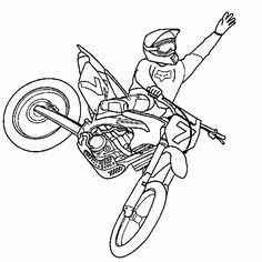 Motorrad Zum Ausmalen Frisch Motorrad Ausmalbilder Honda Motocross Das Bild