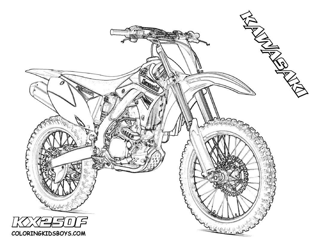 Motorrad Zum Ausmalen Inspirierend Coloring Pages Dirt Bikes Eskayalitim Neu Ausmalbilder Motorrad Bilder