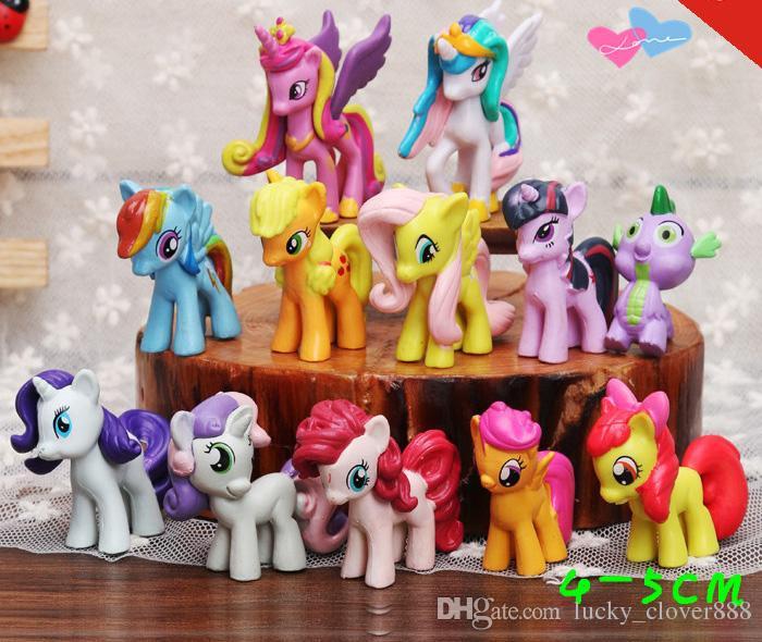 My Little Pony Alte Figuren Das Beste Von Großhandel 12 Teile Los Mein Kleines Pony Action Figuren Cartoon Das Bild