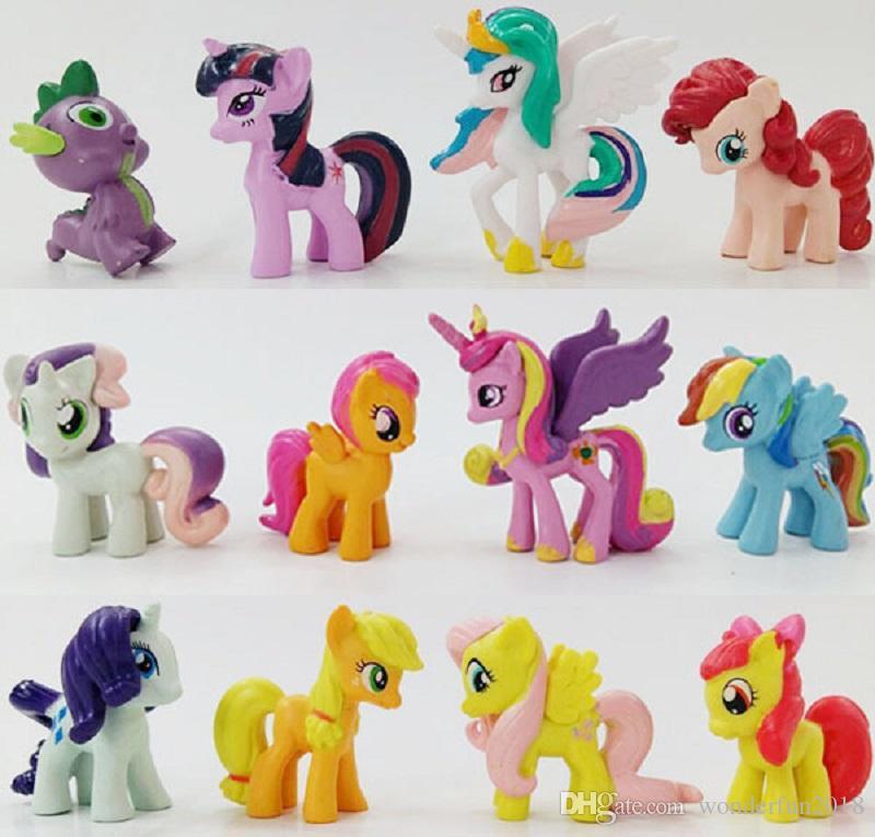 My Little Pony Alte Figuren Das Beste Von Großhandel 12 Teile Los Mein Kleines Pony Action Figuren Cartoon Galerie
