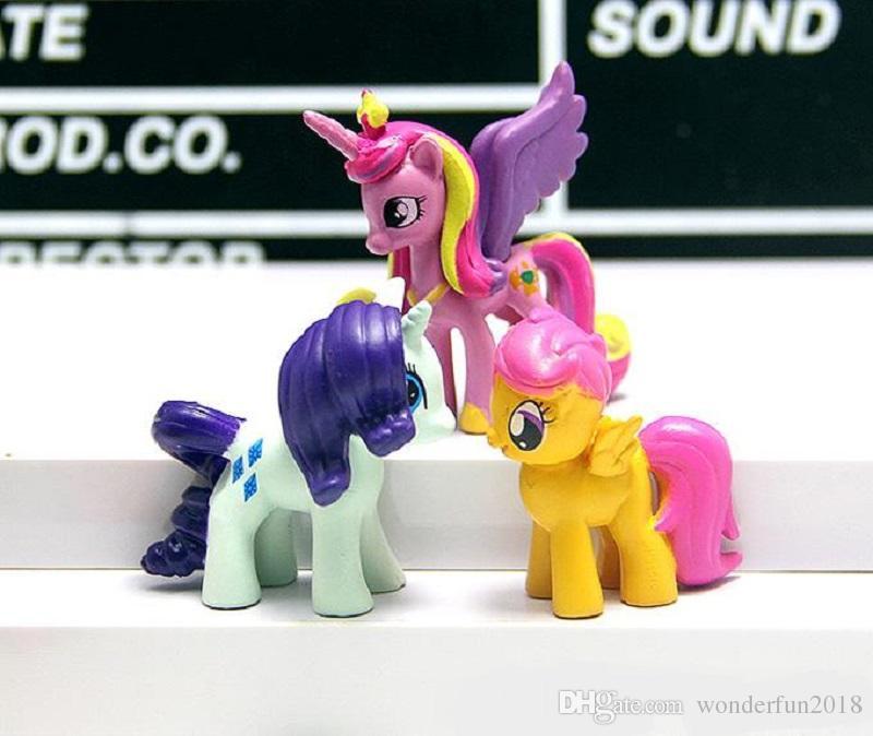 My Little Pony Alte Figuren Einzigartig Großhandel 12 Teile Los Mein Kleines Pony Action Figuren Cartoon Fotos