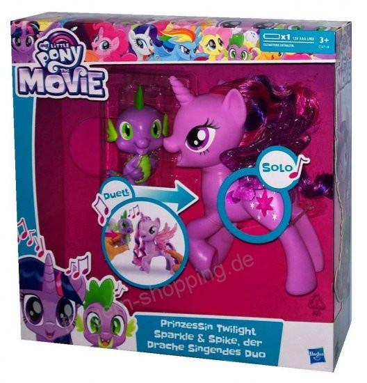 My Little Pony Alte Figuren Einzigartig Hasbro My Little Pony the Movie Prinzessin Twilight Sparkle & Spike Stock