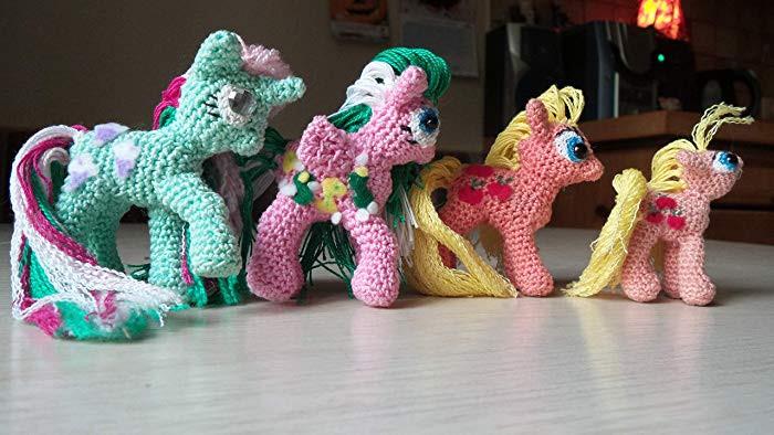 "My Little Pony Alte Figuren Frisch Häkel Anleitung""my Little Pony"" Crochet Pattern Amazon Handmade Bilder"