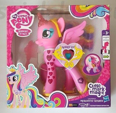 My Little Pony Alte Figuren Frisch My Little Pony Leuchtherz Prinzessin Cadance Spricht Und Leuchtet Das Bild