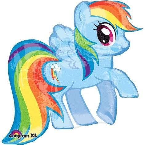 My Little Pony Alte Figuren Frisch My Little Pony Regenbogen Folienballon 72cm Sammlung