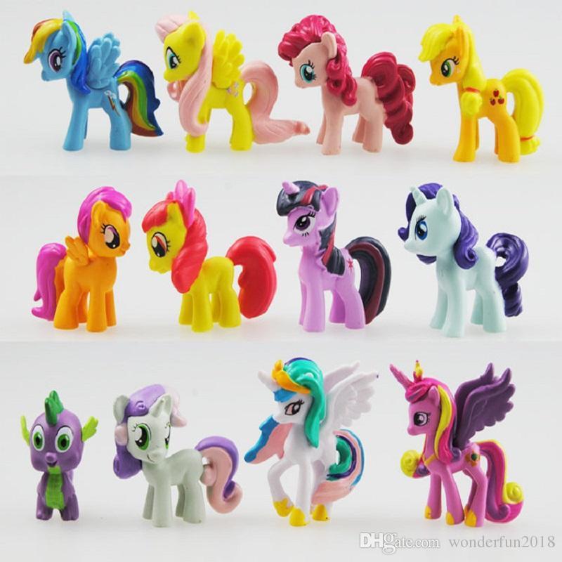 My Little Pony Alte Figuren Genial Großhandel 12 Teile Los Mein Kleines Pony Action Figuren Cartoon Bild