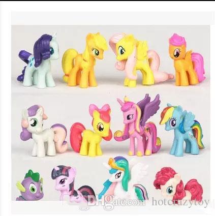 My Little Pony Alte Figuren Inspirierend Großhandel 12 Teile Los Mein Kleines Pony Action Figuren Cartoon Bild