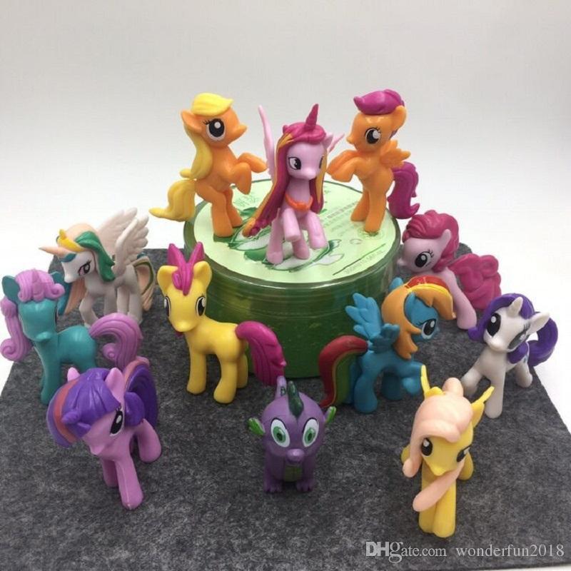My Little Pony Alte Figuren Inspirierend Großhandel 12 Teile Los Mein Kleines Pony Action Figuren Cartoon Galerie
