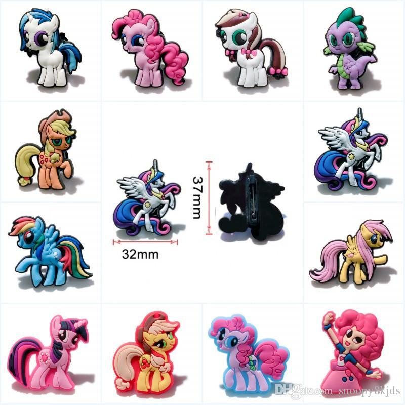 My Little Pony Alte Figuren Inspirierend Großhandel Mixed My Little Pony Cartoon Icon Pvc Broschen Abzeichen Galerie