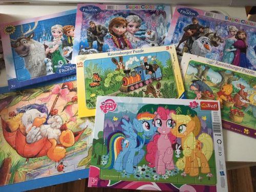 My Little Pony Alte Figuren Neu Diverse Puzzle Frozen My Little Pony Maulwurf Winnie the Pooh In Sammlung