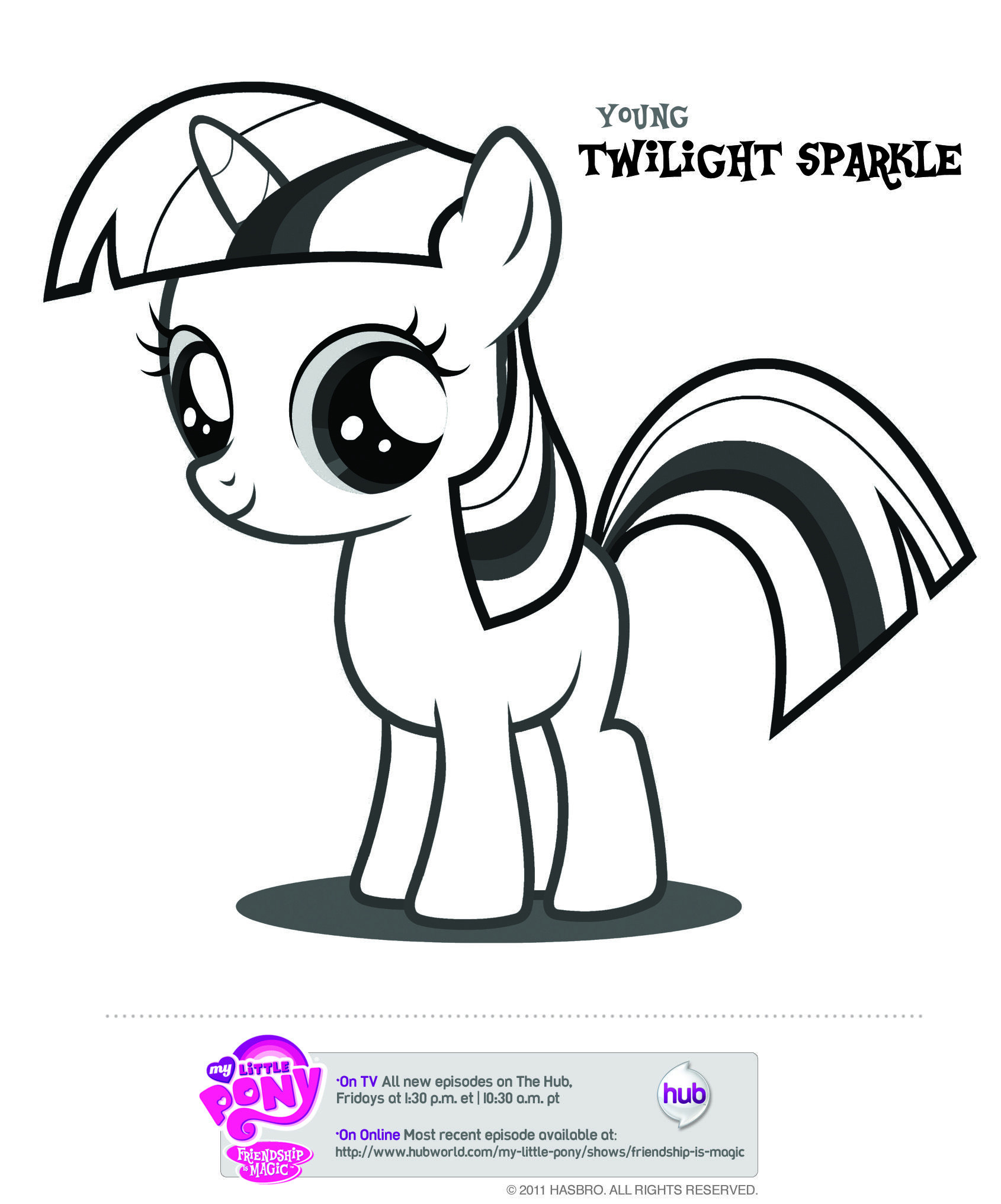 My Little Pony Ausmalbilder Kostenlos Einzigartig My Little Pony Downloadable and Printable Coloring Pages From the Galerie