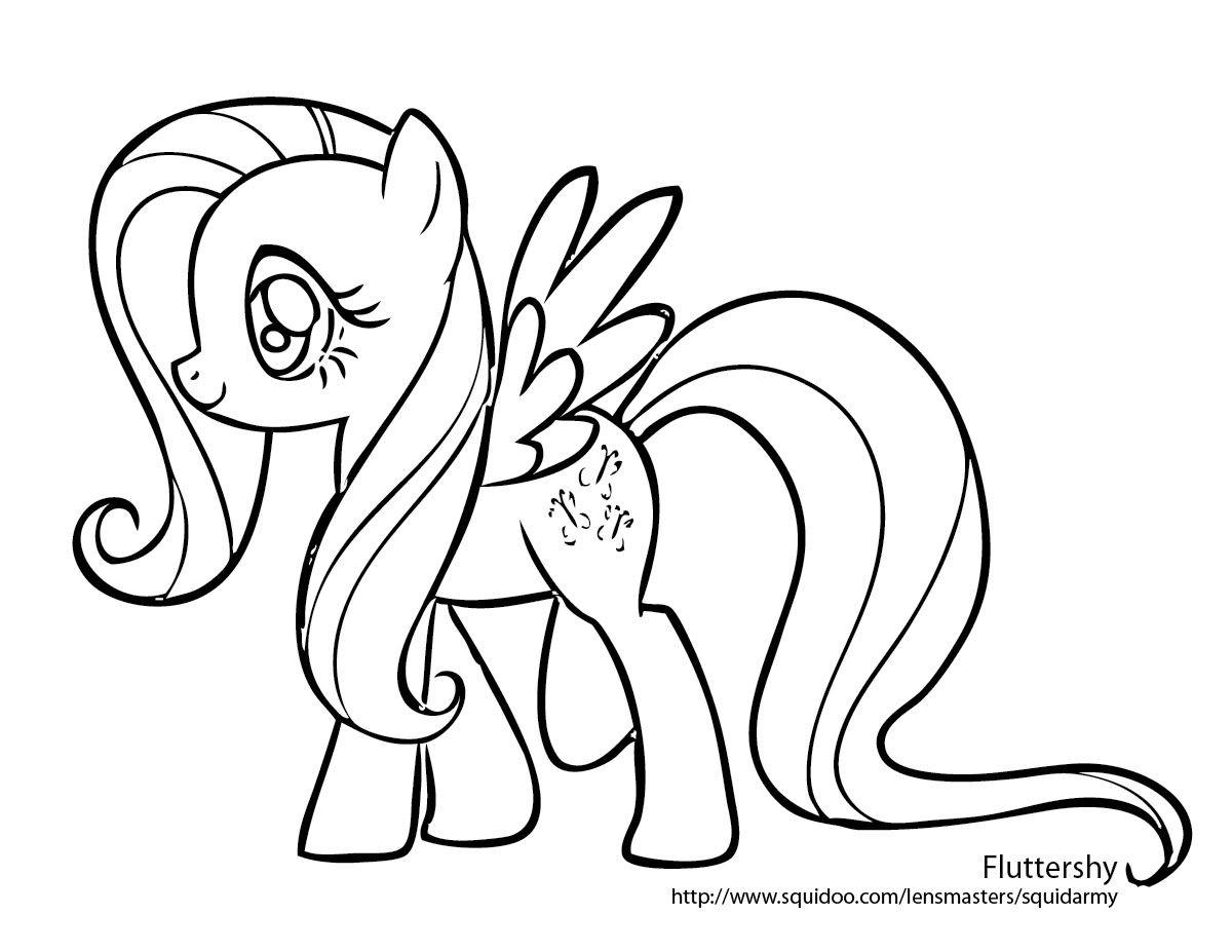 My Little Pony Pinkie Pie Ausmalbilder Frisch My Little Pony Fluttershy Coloring Pages Pinterest Bild