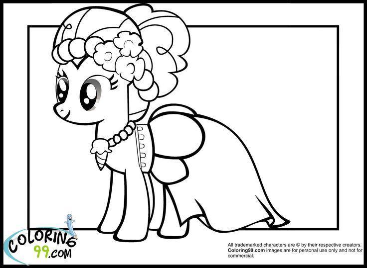 My Little Pony Pinkie Pie Ausmalbilder Frisch Pinky Pie Coloring Page 42 Malvorlagen Prinzessin Celestia Bild