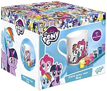 My Little Pony Pinkie Pie Ausmalbilder Frisch totum My Little Pony Tasse Zum Ausmalen Mit Pinsel In 6 Sammlung