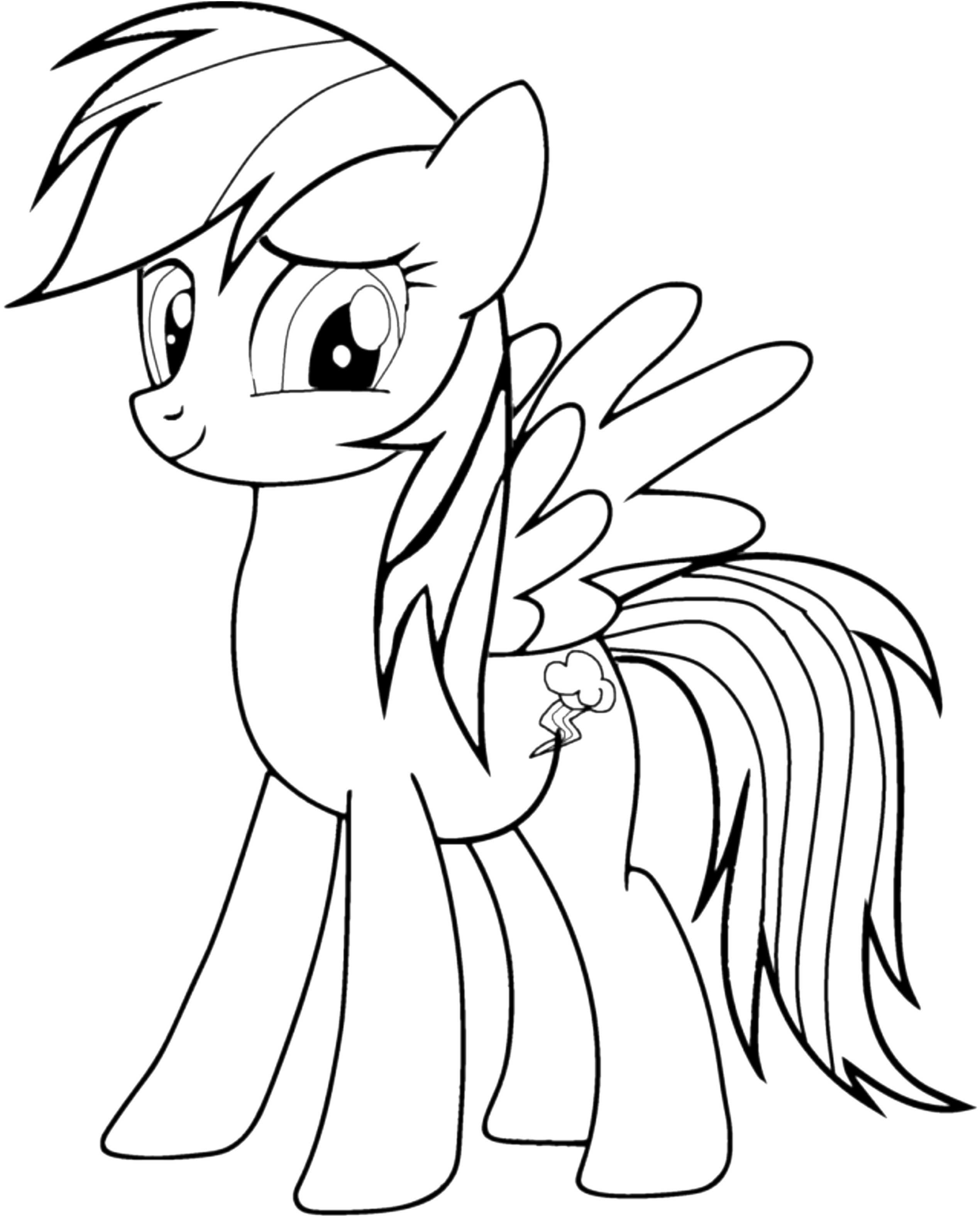 My Little Pony Rainbow Dash Ausmalbilder Einzigartig 41 Inspirierend My Little Pony Malvorlagen – Große Coloring Page Fotos