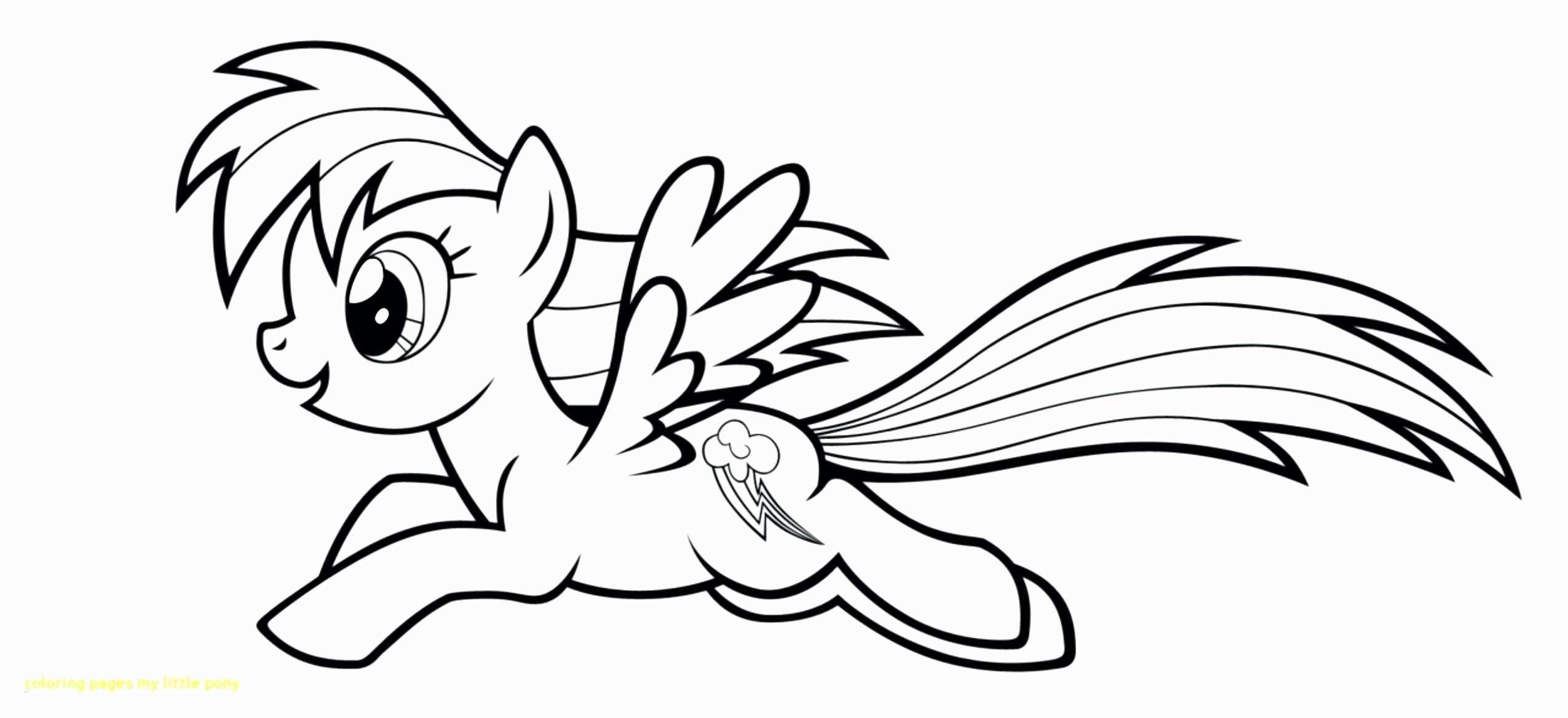 My Little Pony Rainbow Dash Ausmalbilder Genial Rainbow Dash Coloring Pages New My Little Pony Coloring Pages Best Das Bild