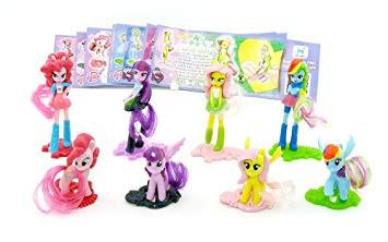 My Little Pony Videos Deutsch Das Beste Von Kinder überraschung My Little Pony Alle 8 Figuren Sätze Das Bild