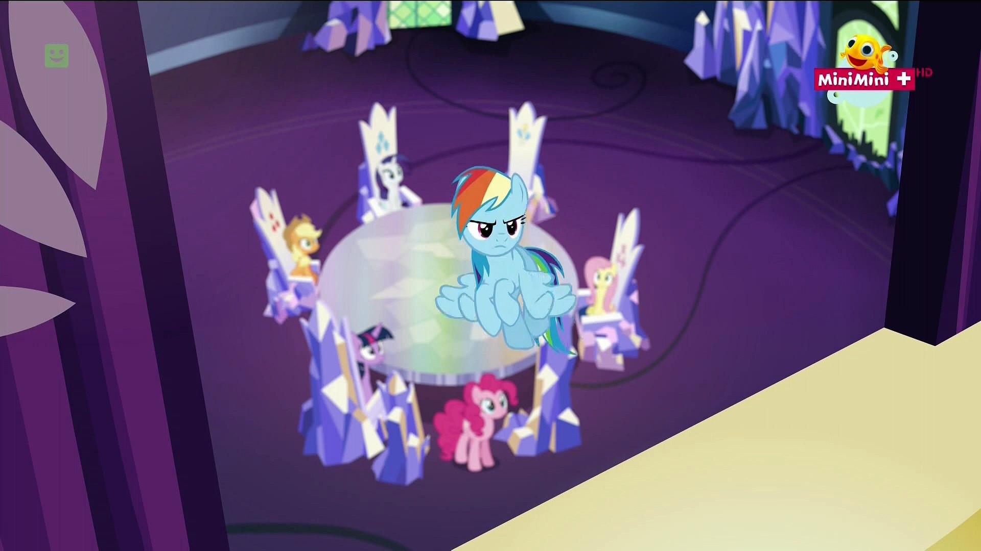 My Little Pony Videos Deutsch Frisch My Little Pony Przyjaźń to Magia S06e15 Dowcipna Rainbow Dash Stock