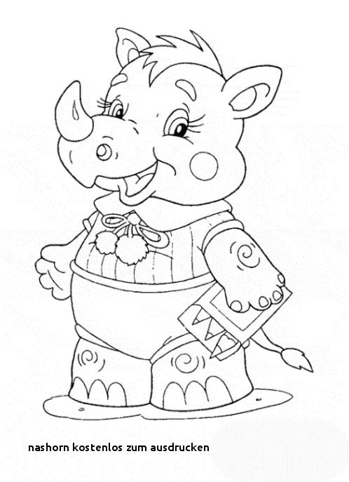 Nashorn Zum Ausmalen Frisch Nashorn Kostenlos Zum Ausdrucken Ausmalbilder Malvorlagen – Nashorn Stock