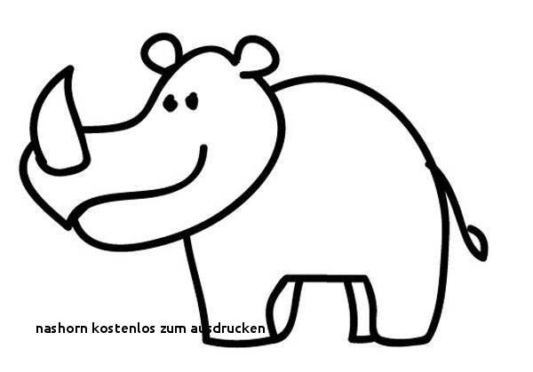 Nashorn Zum Ausmalen Inspirierend Nashorn Kostenlos Zum Ausdrucken Ausmalbilder Malvorlagen – Nashorn Bilder