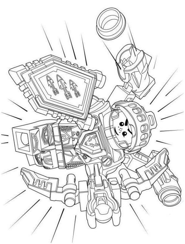 nexo knights ausmalbilder kostenlos neu ausmalbilder lego