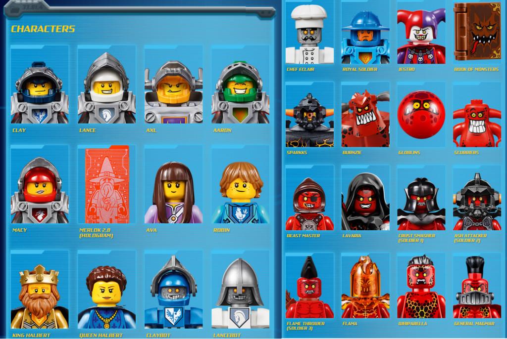 Nexo Knights Schilder Liste Einzigartig Lego Nexo Knights Characters Nexo Knights Birthday Stock