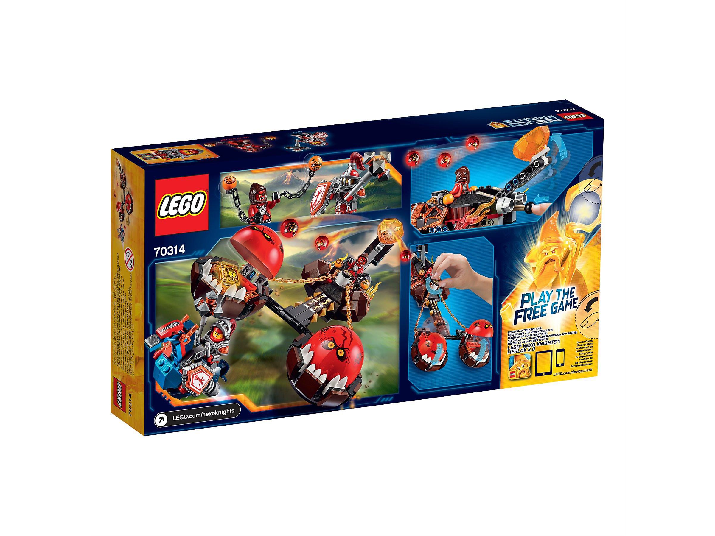 Nexo Knights Schilder Liste Frisch Lego Nexo Knights Chaos Kutsche Des Monster Meisters Bild