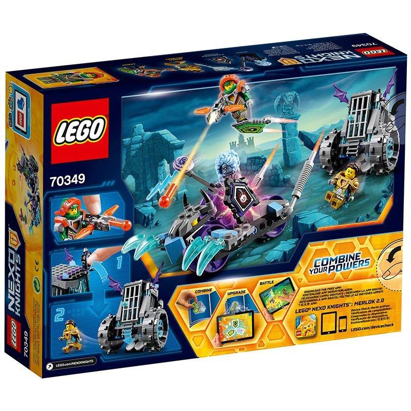 Nexo Knights Schilder Liste Frisch Lego Nexo Knights Ruinas Käfig Roller Amazon Spielzeug Bild