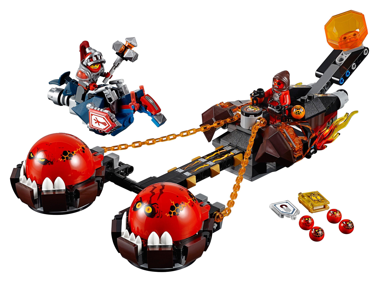 Nexo Knights Schilder Liste Inspirierend Lego Nexo Knights Chaos Kutsche Des Monster Meisters Bild