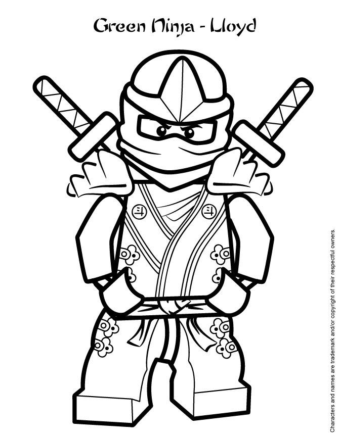 99 das beste von ninjago ausmalbild lloyd fotografieren