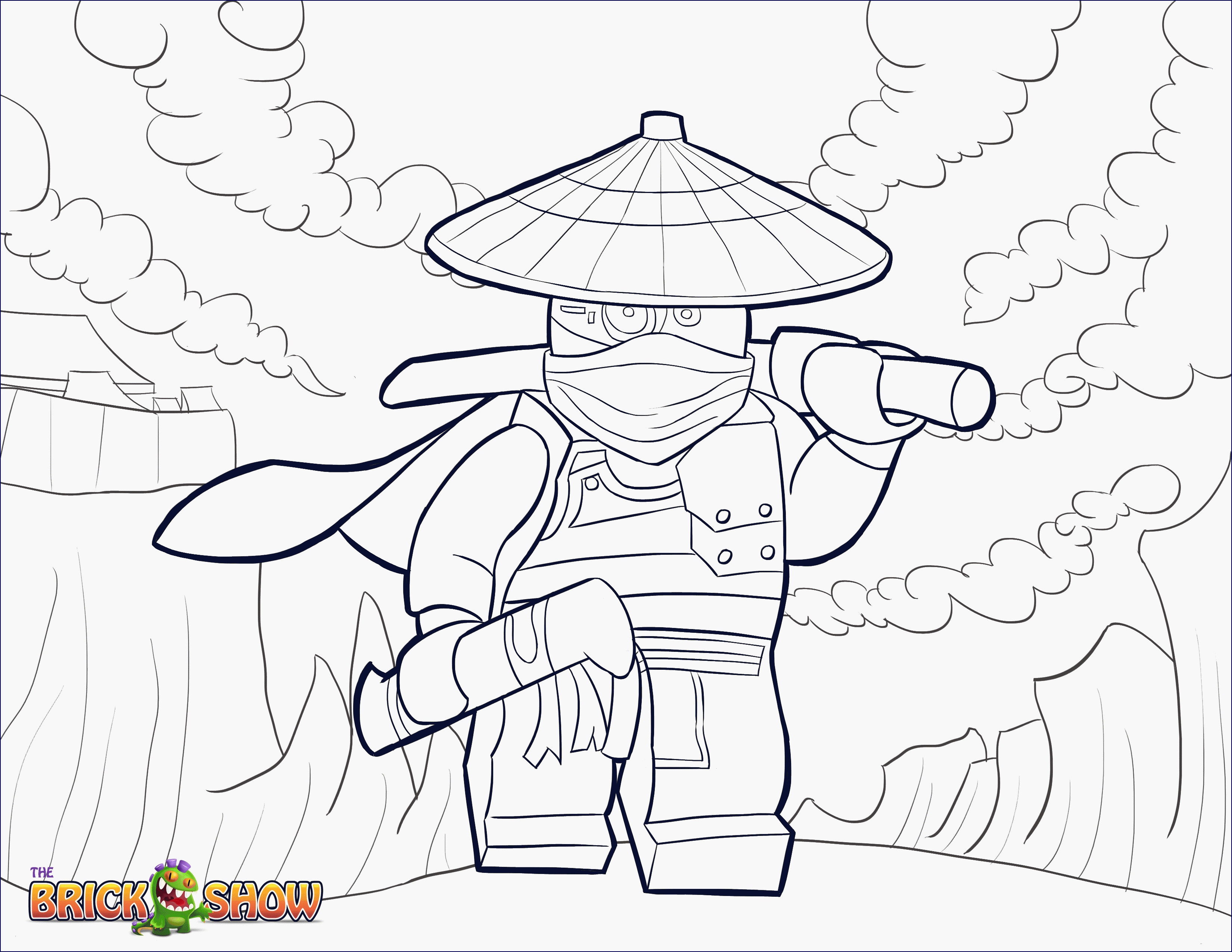 lego ninjago movie ausmalbilder zum ausdrucken