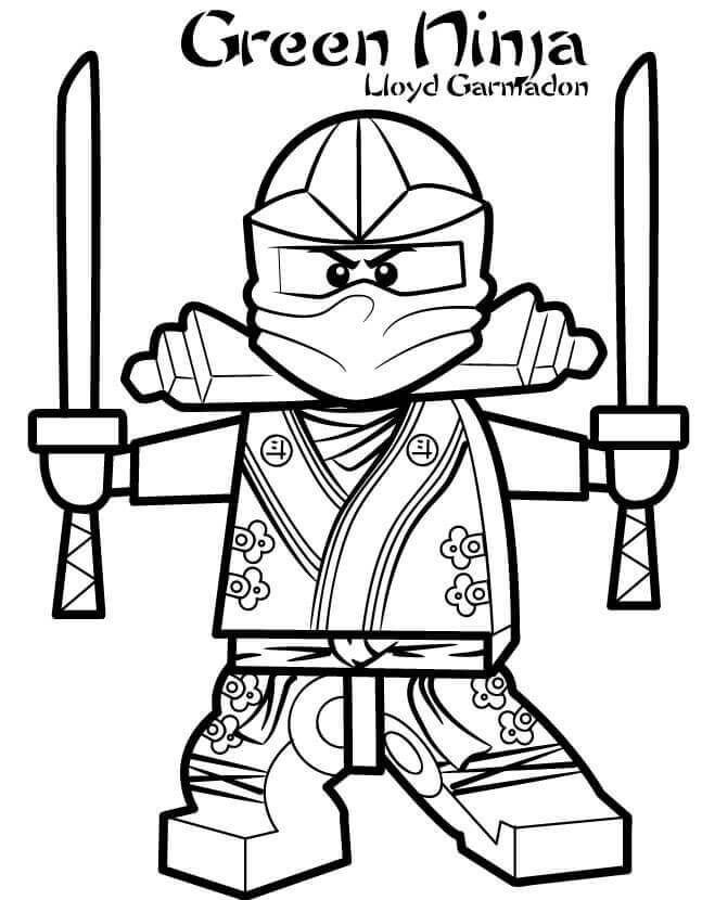 Ninjago Ausmalbild Lloyd Neu Ninjago Ausmalbilder Lloyd Ninjago Kai