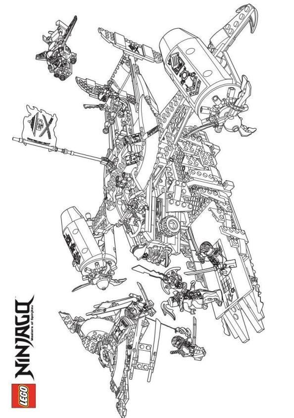 Ninjago Ausmalbilder Jay Inspirierend Kids N Fun Bild