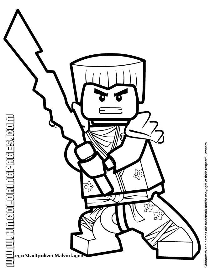 Ninjago Ausmalbilder Lego Inspirierend 21 Lego Stadtpolizei Malvorlagen Bild